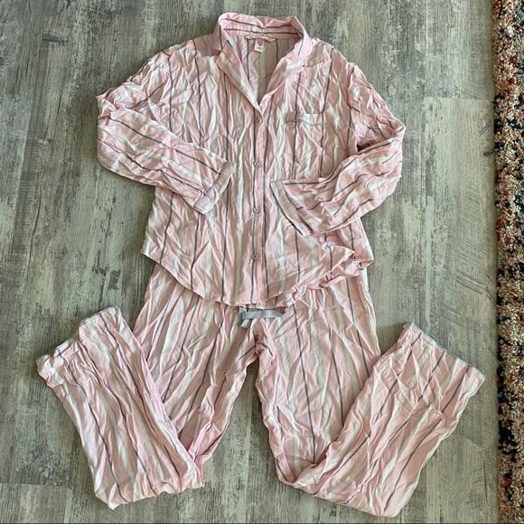NWT Victorias Secret Sleep Pant /& Top Set Size XL